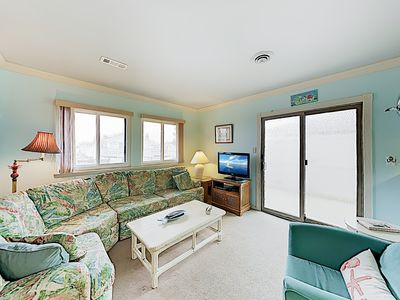 Photo for Canal-Front Retreat w/ Pool & Boat Tie-Ups - Walk to Beach & Restaurants!