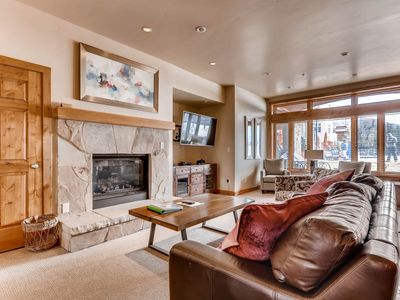 Photo for Lionshead Village ski-in/ski-out condo – shared pool and hot tubs