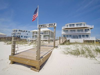 Photo for 8 BR ~ Gulf Front ~ Private Heated Pool ~ Sleeps 28! Jewell of the Gulf!