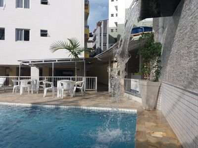 Photo for Apt 2 bedrooms, air conditioning and fan, barbecue, lift and pool