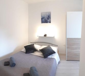 Photo for One bedroom apartment with terrace Marina (Trogir) (A-17013-b)