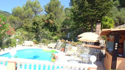Photo for Villla any comfort 4 pers. private pool, in the countryside, 12 km from NICE