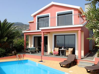 Photo for Villa with pool and stunning views near the beach of Ponta do Sol
