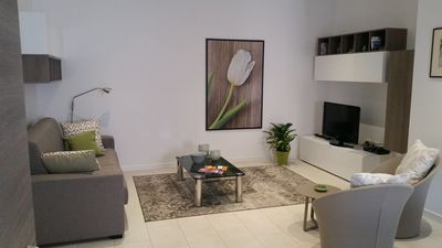 Photo for Verona city: Modern apartment a few steps from the historic center with garage