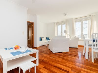 Photo for Modern flat in Algés with river views