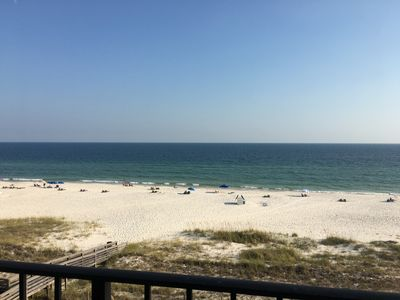 Photo for Ocean/Gulf front condo right on the beach!  Still available dates for Summer 19!