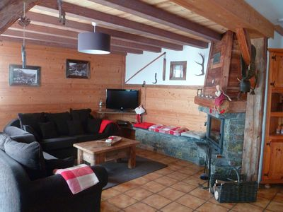 Photo for Rental chalet le Boue champagny in vanoise savoie 6 people -----------------