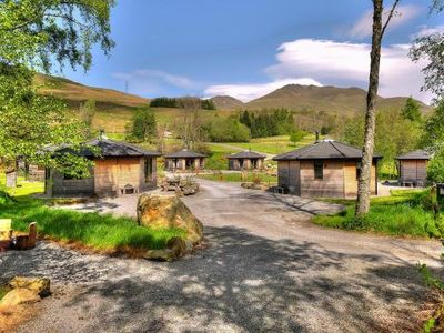 Photo for Holiday resort Woodland Cabins am Loch Tay, Killin  in Perthshire - 5 persons, 1 bedroom