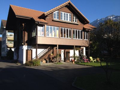 Photo for Chalet Waldegg central with garden