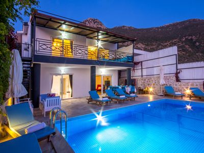 Photo for 7 Bedroom Villa with Very Private Pool & Great Sea Views, Ideal for Large Groups