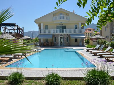 Photo for Villa Saray luxury 7 bedrooms all airconditioned, centre of Dalyan