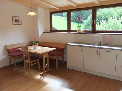 Photo for Apartment *** in St. Peter, a small village 4 km from St. Ulrich / Val Gardena