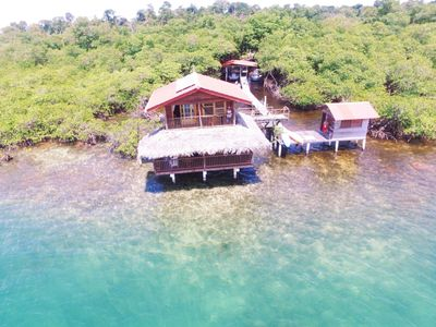 Carribean Blue, Over the Water Casita