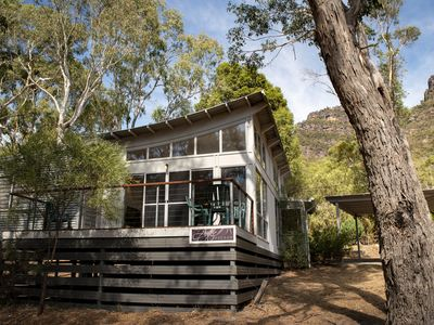 Photo for Aztec Escape - Modern 2 bedroom house in Halls Gap with wood fire
