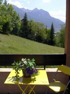 Photo for South facing apartment, balcony, access to garden and amazing view