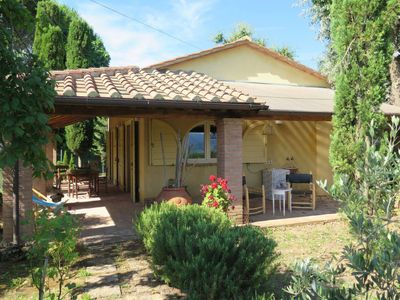 Photo for Vacation home Casa Erbe (MSC135) in Montescudaio - 4 persons, 2 bedrooms