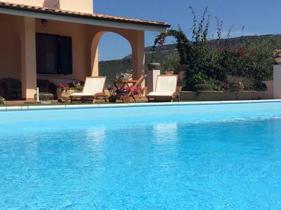 Photo for Alghero holiday home: Villa Relax with private pool and panoramic views