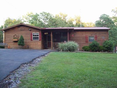 Photo for Cute Rustic Cabin, 1 Br; Within Sight Of Beautiful Kentucky Lake