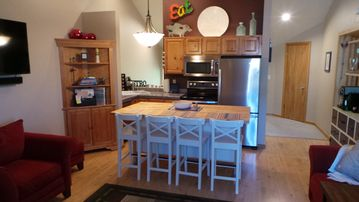 Kitchen/Dining area is fully equipped with everything need for a great meal.