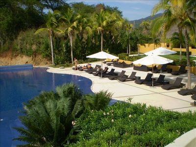 Photo for Breath-taking 9th floor view of Banderas Bay, 2 pools!