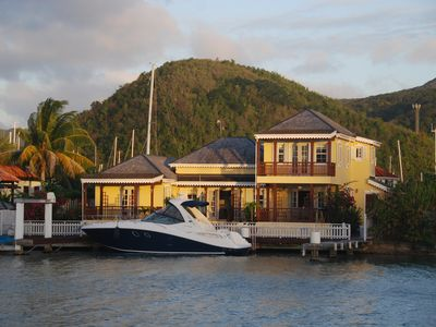 Photo for Luxury detached 3 bedroom marina villa - Jolly Harbour (South side) - villa 214a