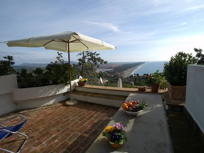 Photo for Sea view Ansedonia - One Bedroom Apartment, Sleeps 4
