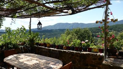 Photo for Beautiful old typical house, magnificent view, very quiet location