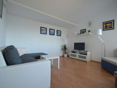 Photo for Apartments with swimming pool for 4 pers. with nice view to the sea (S)
