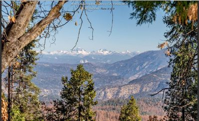Photo for Treetop Cabin, Sleeps 4, 1 Bedrm, 1 bath,Near Shaver Lake! Great View