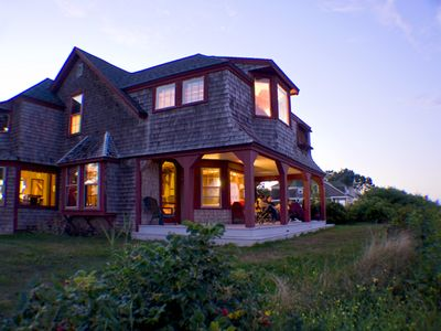 Photo for 1890 Summer Cottage on an Ocean Bluff
