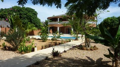 Photo for MAGNIFICENT VILLA SECURE INDEPENDENT-GREAT STANDING A 100 M BEACH
