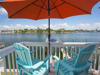 Photo for WHAT A VIEW! Overlooking Boga Ciaga Bay (Intercostal Waterway)!