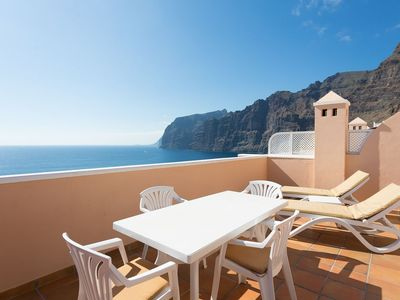 Photo for SUPERB LOCATION - PANORAMIC SEA & CLIFF VIEWS - WIFI - AIR CONDITIONING UNIT
