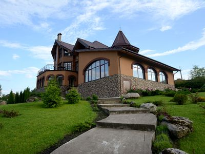 Photo for The beautiful house near beautiful lake.