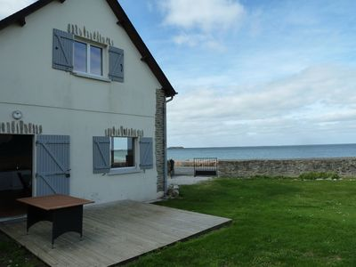 Photo for house with garden facing the sea in Cotentin