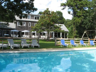 Photo for Ideal For Extended Families- Pool, Tennis Court, Guest House!