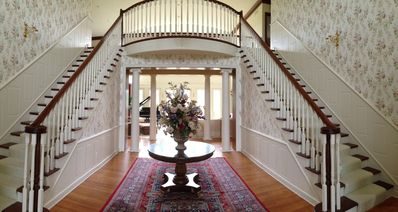 Inside view from front door entrance.