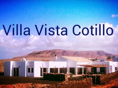 Photo for El Cotillo, El Roque Luxury villa with sea & mountain views. Heated Indoor Pool.