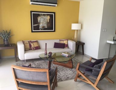 Photo for Downtown deluxe apartment, fully furnished, fully equipped, excellent location.