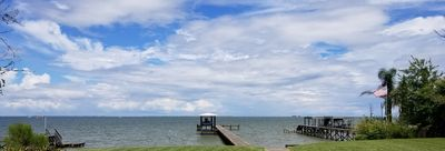 Photo for Galveston Bay Hideaway With Lighted Fishing Pier