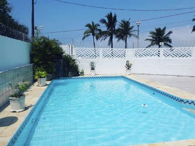 Photo for Beira Mar House with pool and waterfall in Mongaguá with 06 suites