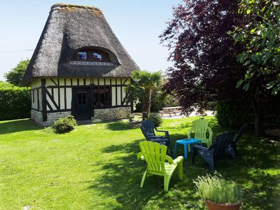 Photo for Fatouville-Grestain Holiday Home, Sleeps 6 with Pool and Free WiFi