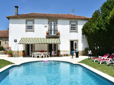 Photo for Solar Peidade - Private pool and tennis court near Porto and the beach