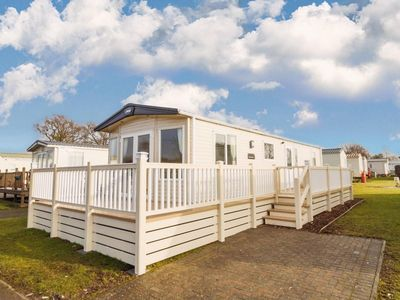 Photo for Luxury holiday home for hire in Suffolk at Carlton Meres Holiday Park ref 60013O