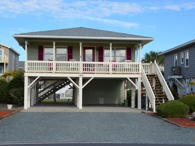 Photo for Ocean View!! Adorable, Second Row Single Family Home in Ocean Isle Beach