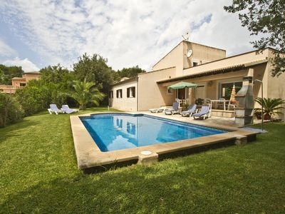 Photo for Beautiful finca with pool at Crestatx