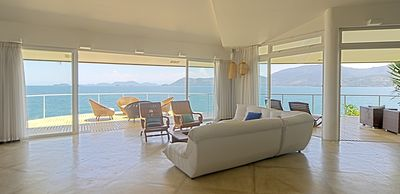 Photo for Charming residence overlooking the sea and beach