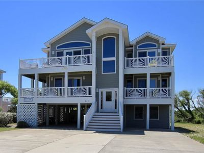 Photo for #493: Partial OCEANVIEW Home in Corolla w/PrivatePool & HotTub