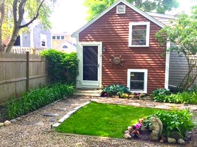 Photo for Immaculate Cottage Steps from Sea Street Beach - Walk to Downtown Hyannis too!