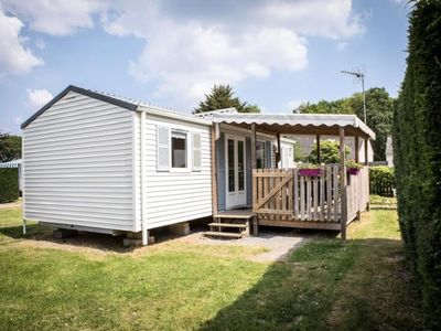 Photo for Campsite L'Ile de Kernodet *** - Mobile home Louisiane 4 rooms 6 people
